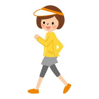 ウォーキング 1日の歩数の目安は8000歩・早歩き20分が健康に効果 ...