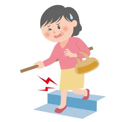 「ひざ痛 イラスト」の画像検索結果