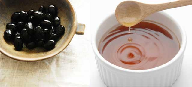 黒豆の黒酢