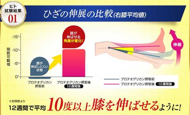 膝関節の可動性をサポート